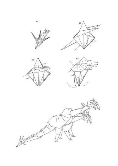 Origami Dragon - Origami Dragon | 531x376