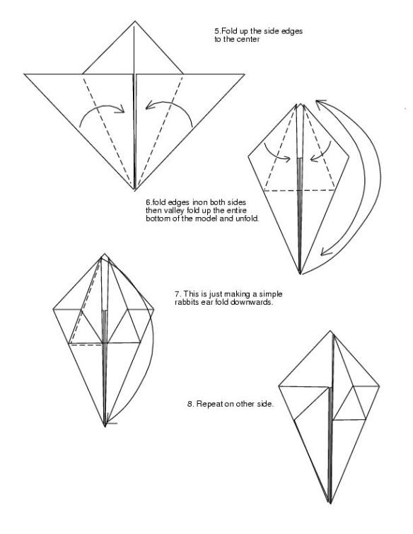 Delightful Dragon Head Origami : Origami Instructions To Make A ... | 756x584