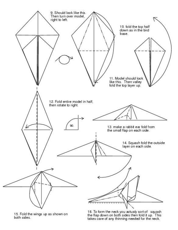 dragon01.jpg (1024×2118) … | Origami diagrams, Origami crafts ... | 756x584