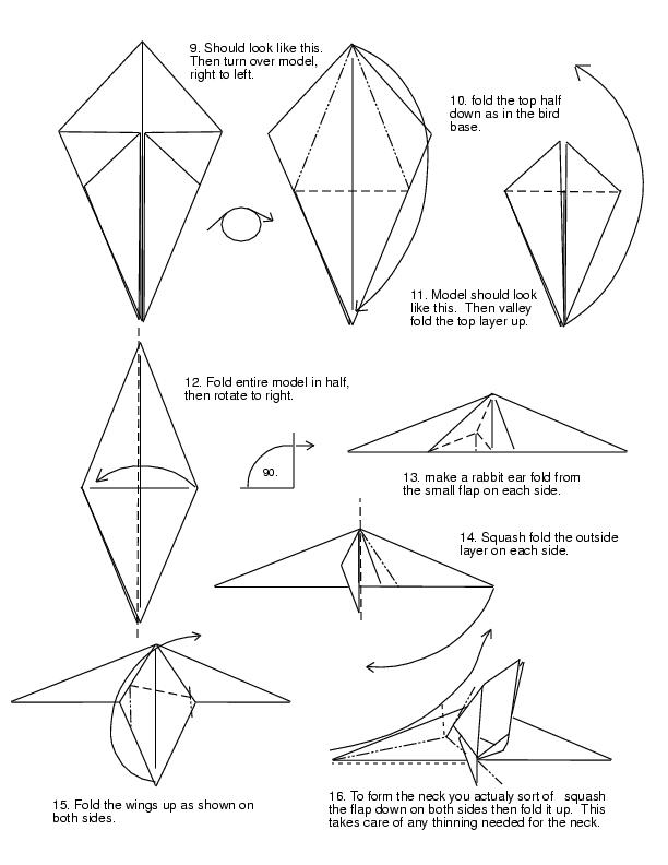 how to make a origami dragon step by step