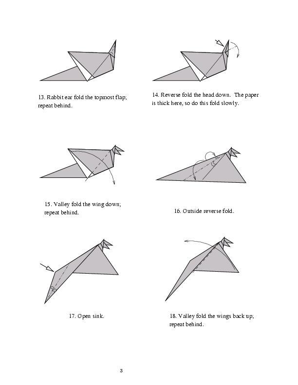 Origami Simple Dragon Shuki Kato