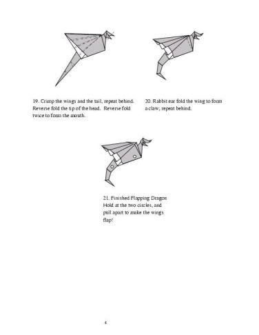Origami Dragon Instructions for Kids to Enjoy Their Creative ... | 487x376